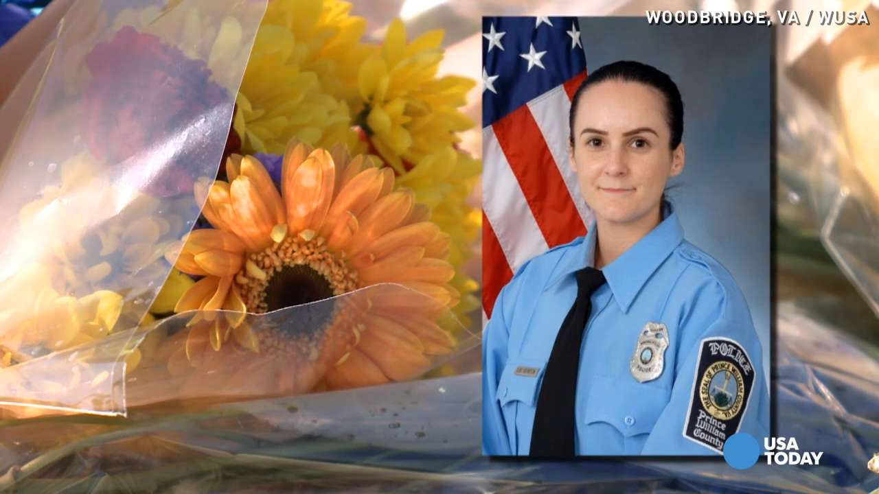 Tributes pour in for officer killed during first shift