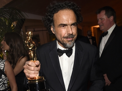 Inarritu, Vikander React to Oscar Wins