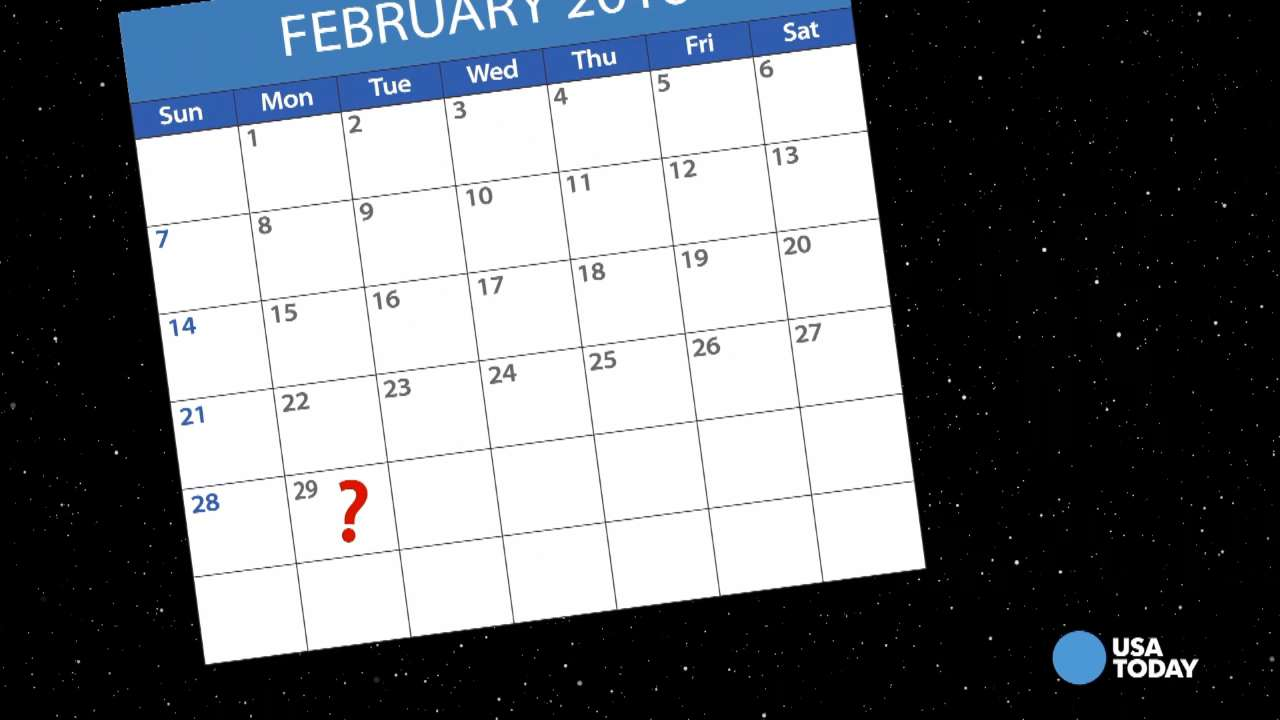 Why does leap day come around every 4 years?