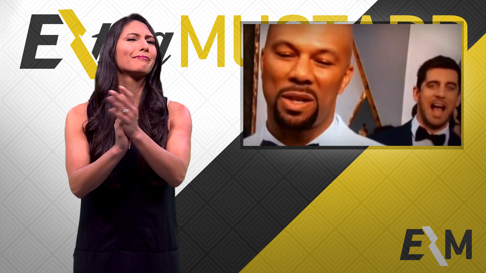Mustard Minute: Aaron Rodgers deserves an Oscar for his photobomb