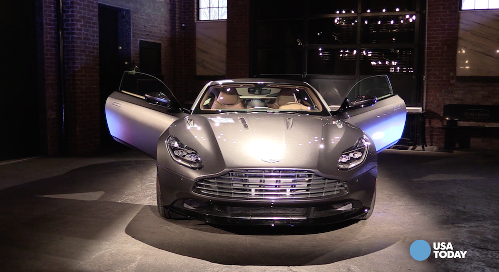 A first look at the new Aston Martin DB11