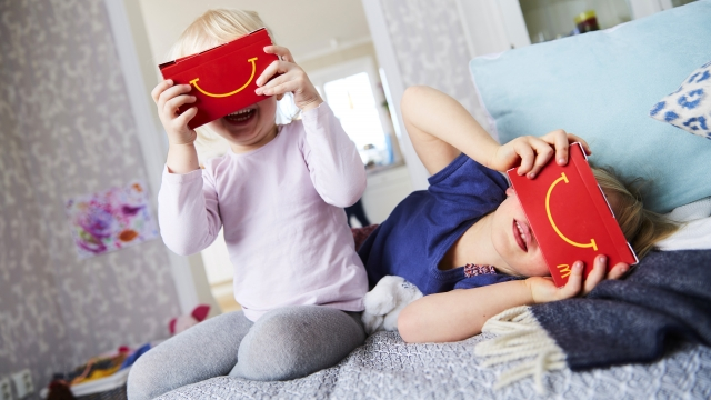 McDonald's is making a Happy Meal box that turns into a VR headset