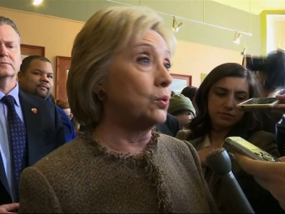 Clinton: GOP Campaigns Based on 'Insults'