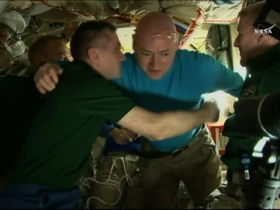 astronaut returns after one year in space - photo #30