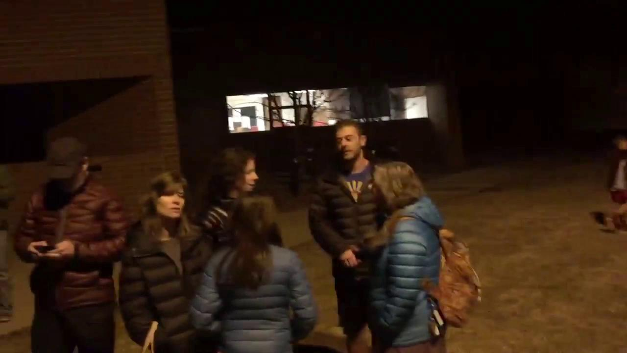 Colorado caucus-goers forced to wait outside in long lines
