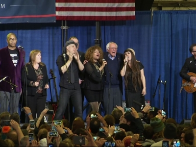 Sanders Supporters Say They Are Still Hopeful