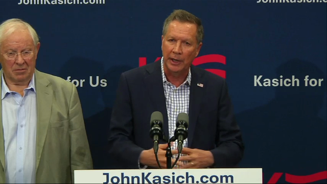 John Kasich: Important to 'stop Mr. Trump'