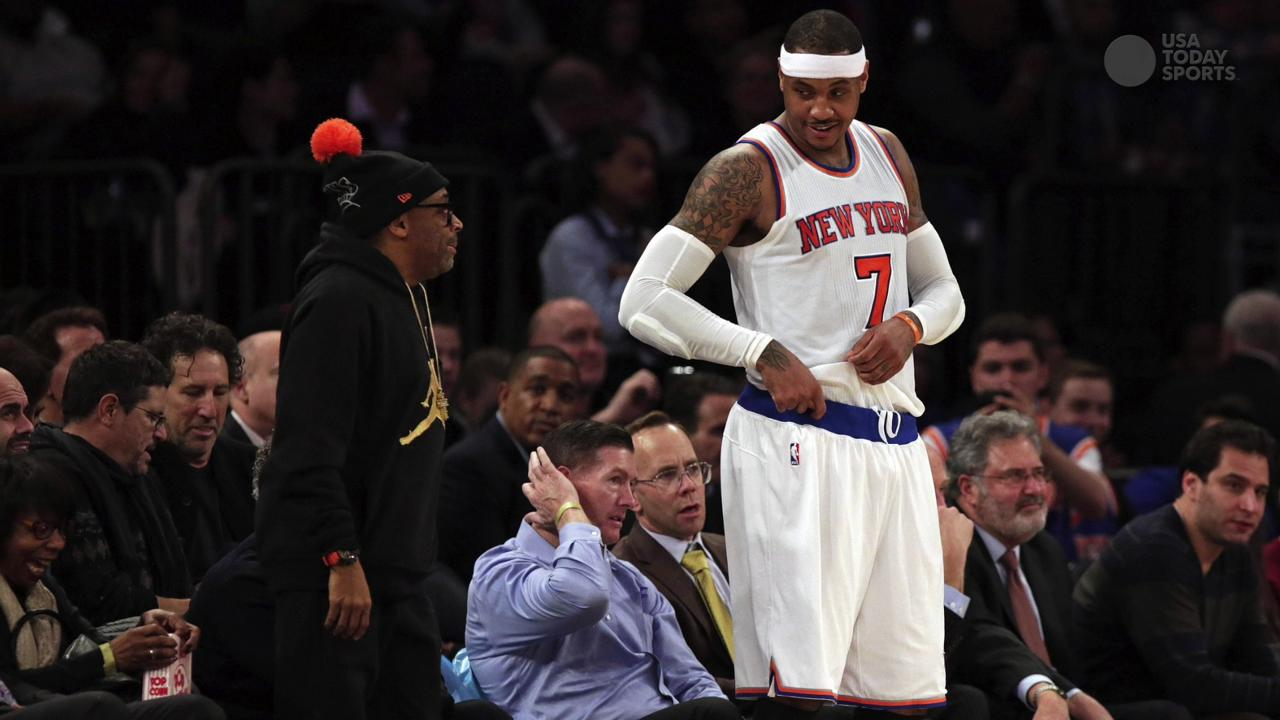 Carmelo Anthony was urged to apologize