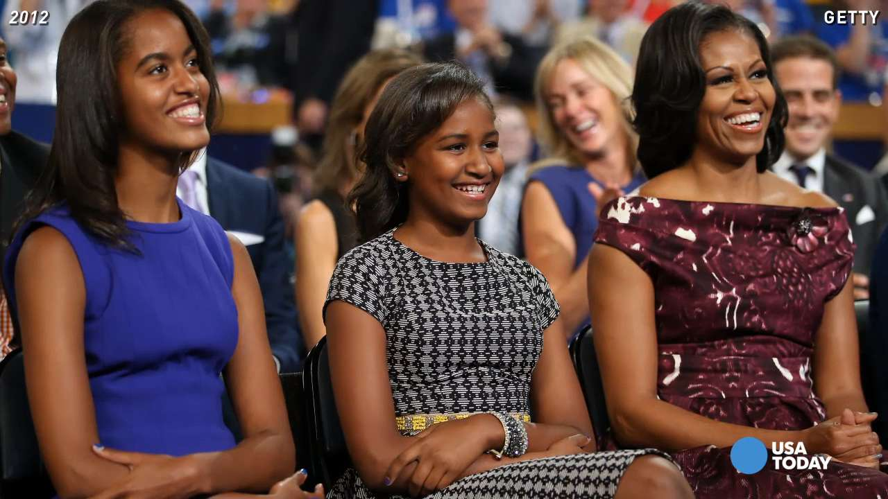 Watch Obama's daughters grow up in 60 seconds