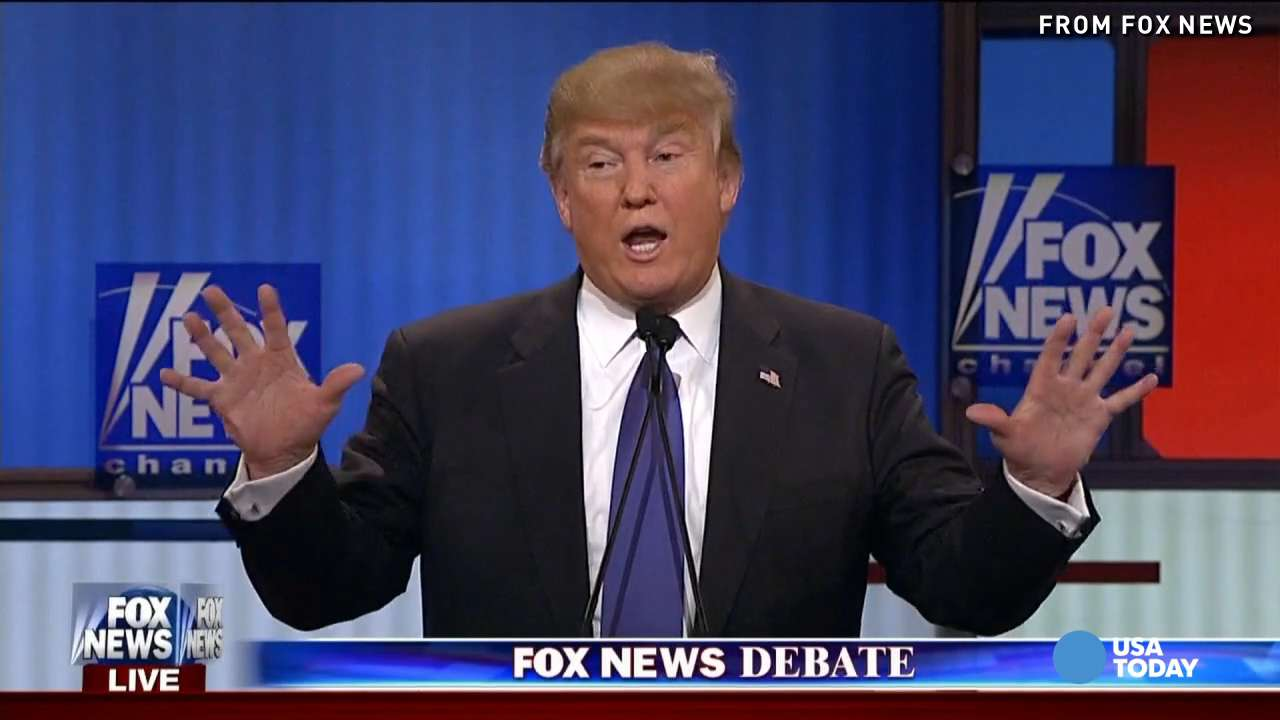 Trump tackles torture, Romney, anatomy at GOP debate