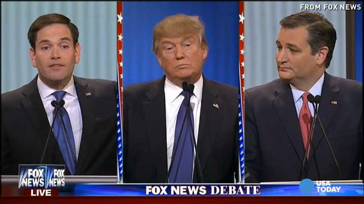 Usa News Live >> Best Zingers From The 11th Gop Debate In 2 Minutes