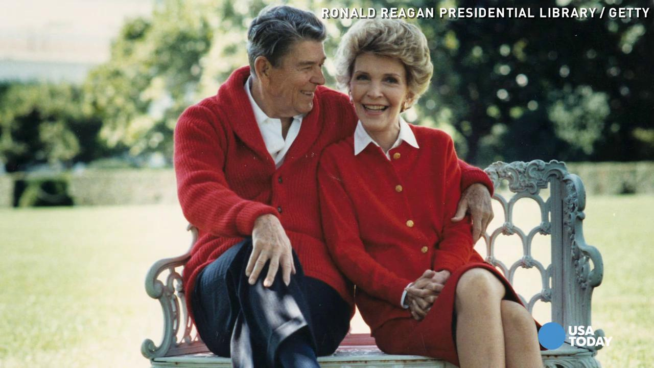 Photo captures reagans as newlyweds appearing with truman