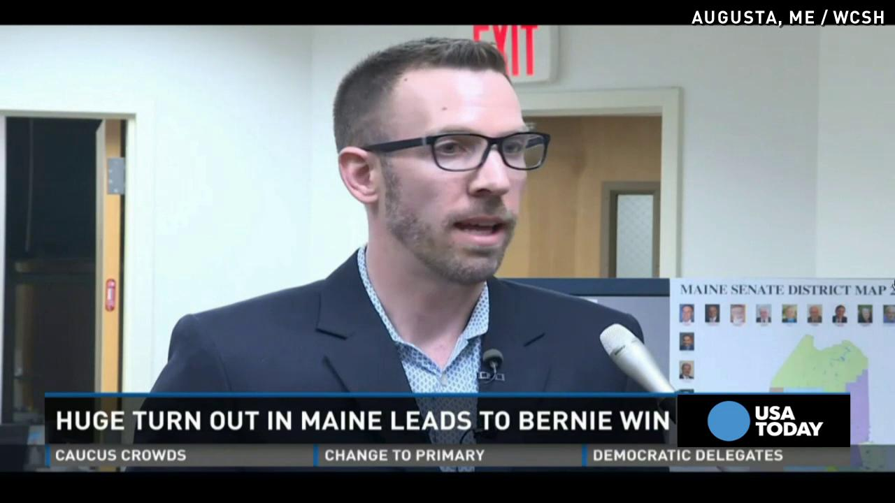 Bernie Sanders wins Maine caucuses