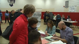 Raw: Huge Turnout as Sanders Wins Maine