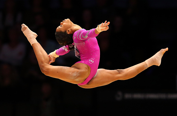 Olympic gold medalist, Gabby Douglas, has her eyes on Olympics 2016 in Rio de Janeiro after winning the AT&T American Cup. She's been on a break for two years since the 2012 London Olympics.