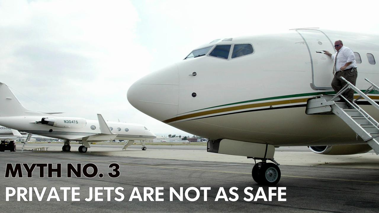 5 Myths About Private Jets