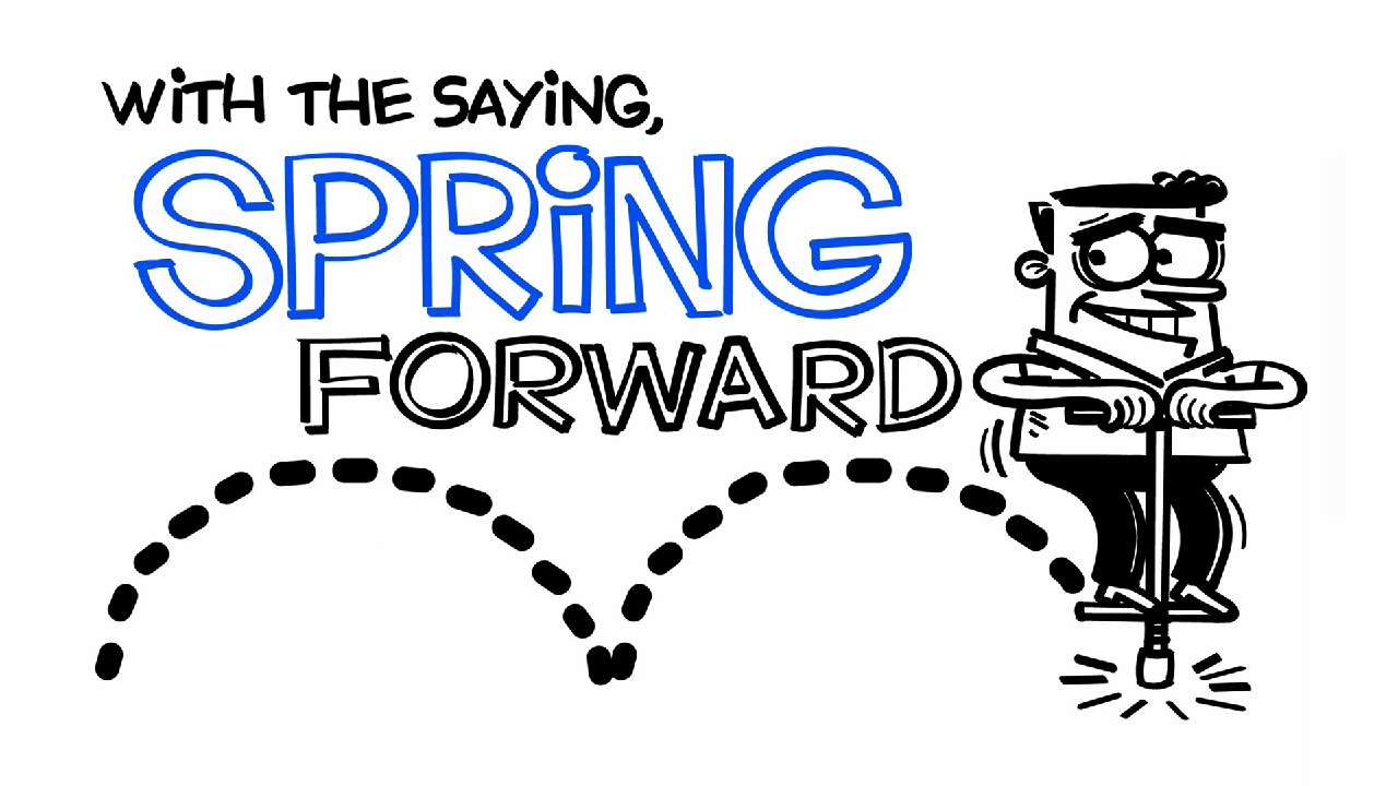 For most of the U.S., clocks are moving forward — from 2 a.m. to 3 a.m. — on Sunday, March 8, 2015.