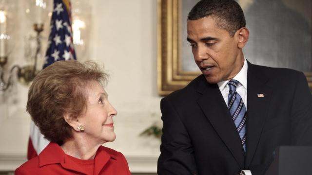 President Obama to skip Nancy Reagan's funeral to attend SXSW