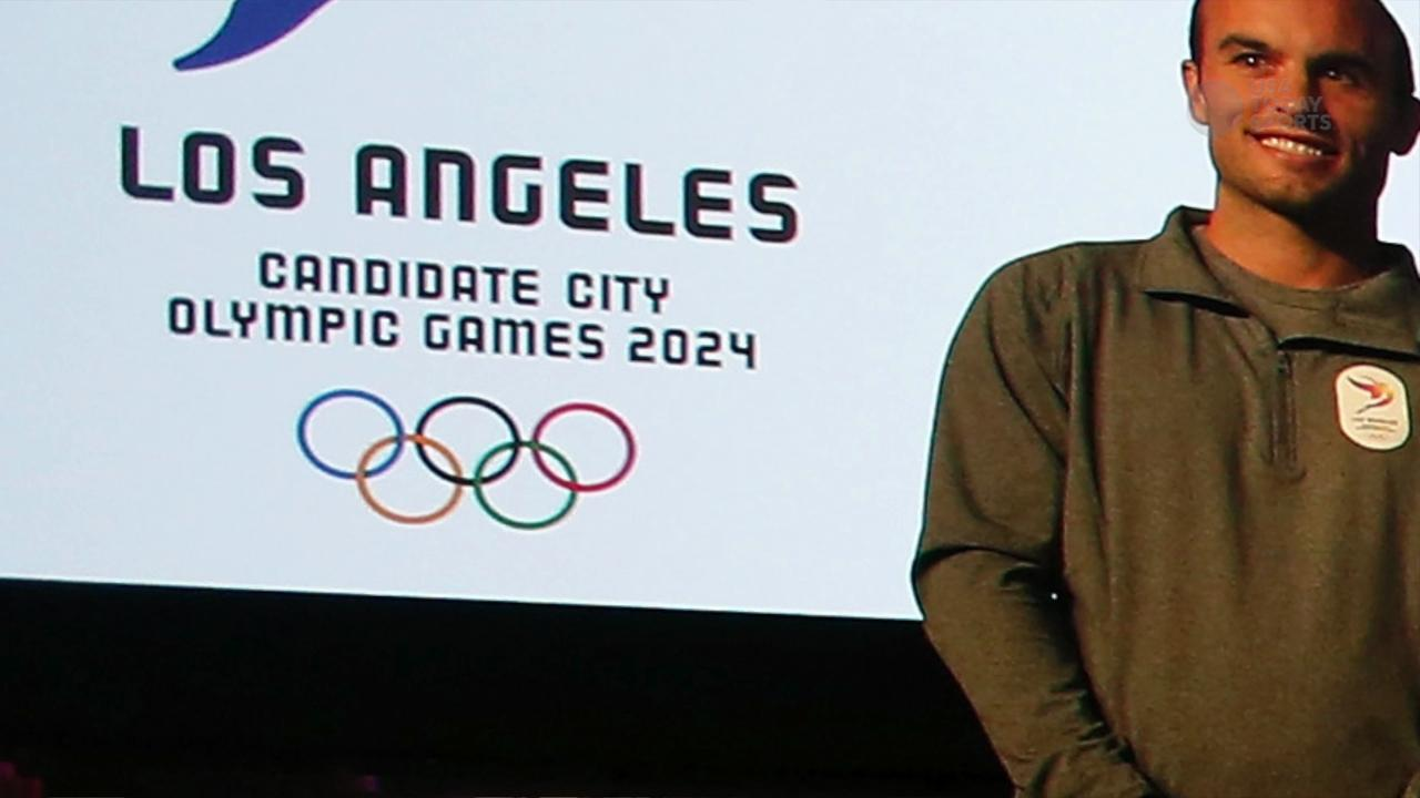 USA TODAY Sports' Rachel Axon details the hype surrounding Los Angeles' bid for the 2024 Games.