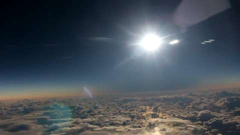 Solar Eclipse Redirects Flight