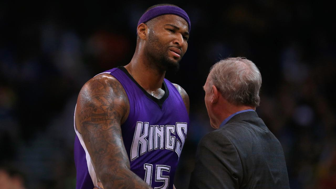 Kings suspend DeMarcus Cousins for one game