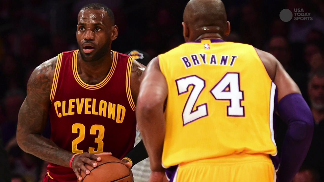 f321eab1e86 LeBron James  Cavaliers top Kobe Bryant s Lakers in  special  final duel
