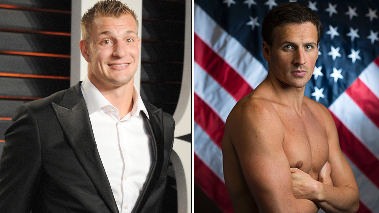 Would Ryan Lochte save a drowning Rob Gronkowski?