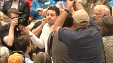 Protester: Rubio 'trying to steal my girlfriend'