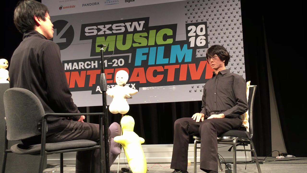 Lifelike android holds unassisted conversation at SXSW Interactive