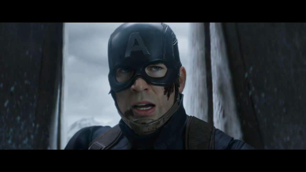 Steve Rogers (Chris Evans) fights for freedom in 'Captain