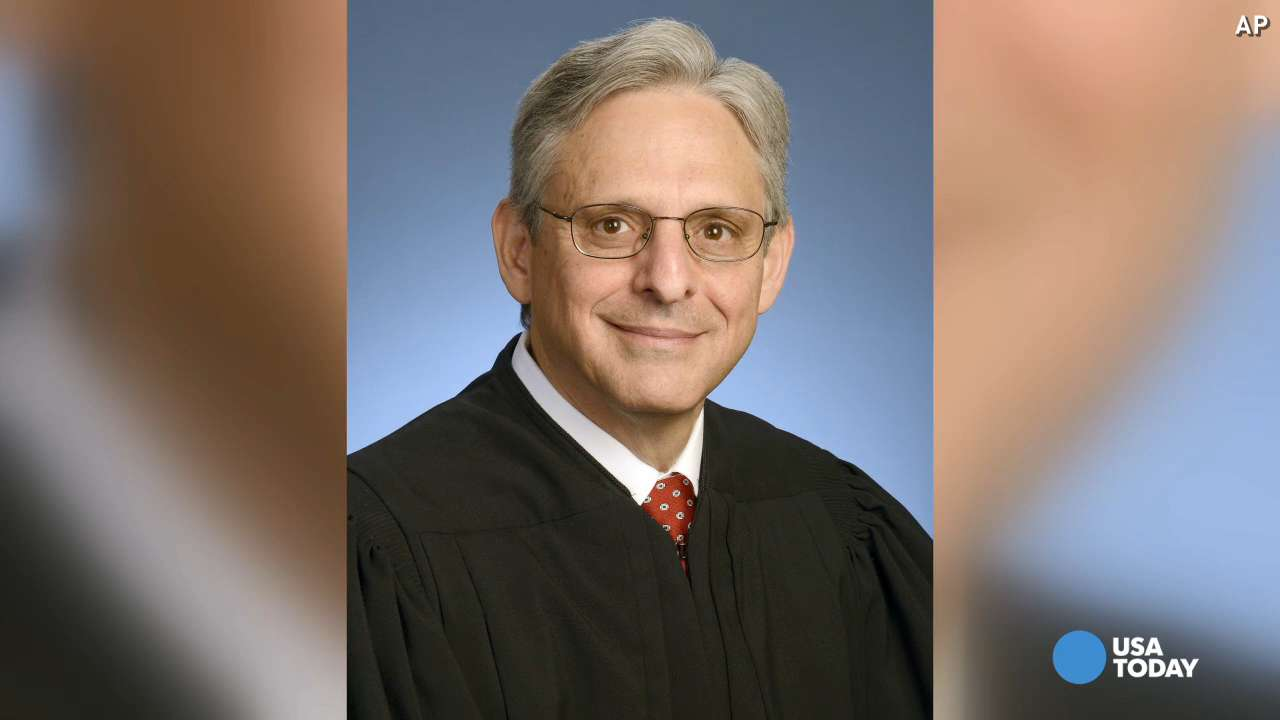 In this May 1, 2008, file photo, Judge Merrick B. Garland is seen at the federal courthouse in Washington. In his search for a Supreme Court nominee, President Barack Obama is zeroing in on a small group of appellate court judges whose bipartisan credentials and traditional judicial pedigree the White House hopes will increase pressure on Republicans vowing to block whomever Obama nominates in an election year.