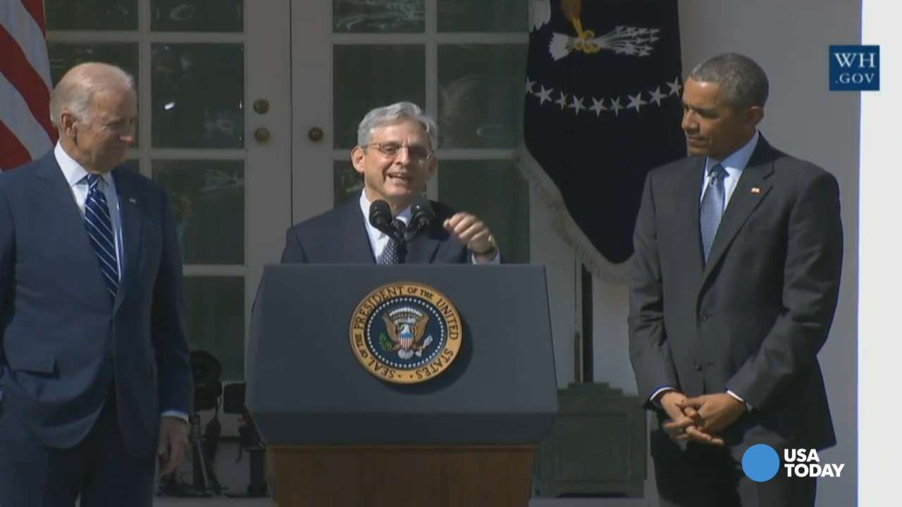 Garland: Supreme Court nomination 'greatest honor of my life'