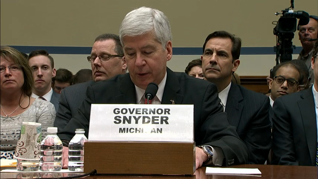 Mich. Gov.: Flint Crisis 'Weighs on My Mind'