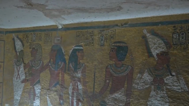 Scan of King Tut's tomb shows hidden rooms