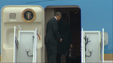 Obama and family depart for Cuba