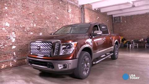 Nissan unveils the new Titan at New York Auto Show