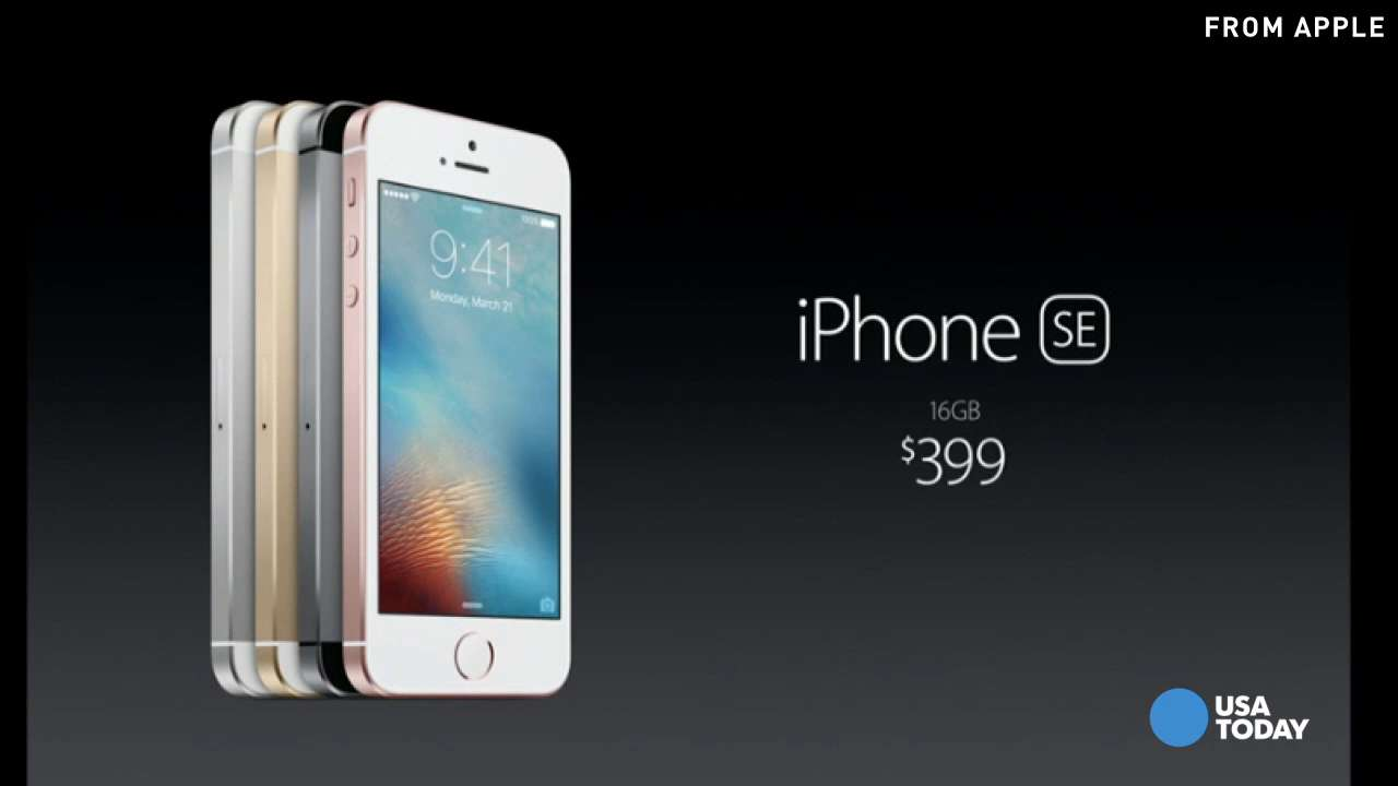 Apple unveils new iPhone SE