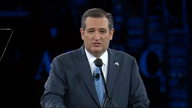 Cruz Hits Trump, Clinton in AIPAC Speech