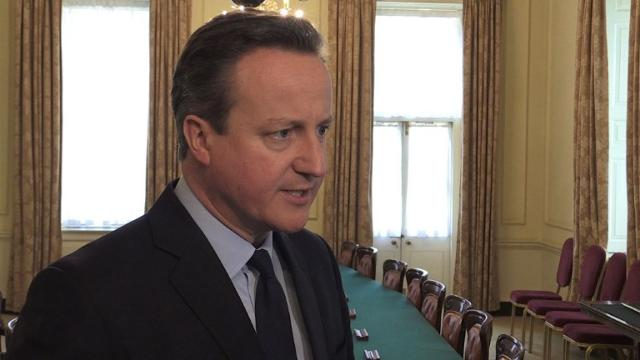 Cameron: 'We will never let these terrorists win'