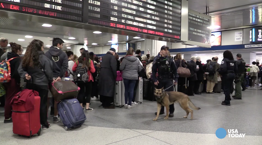 increased air security after the bombing Extra armed police on the streets, sniffer dogs and increased security checks at airports were just some of the measures brought in as the world reacted to this morning's attacks in belgium.