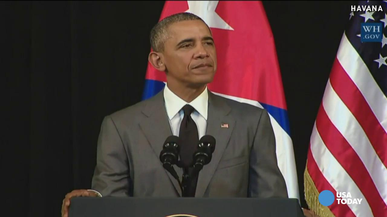 Obama: Cuba visit buries 'last remnants of the Cold War'