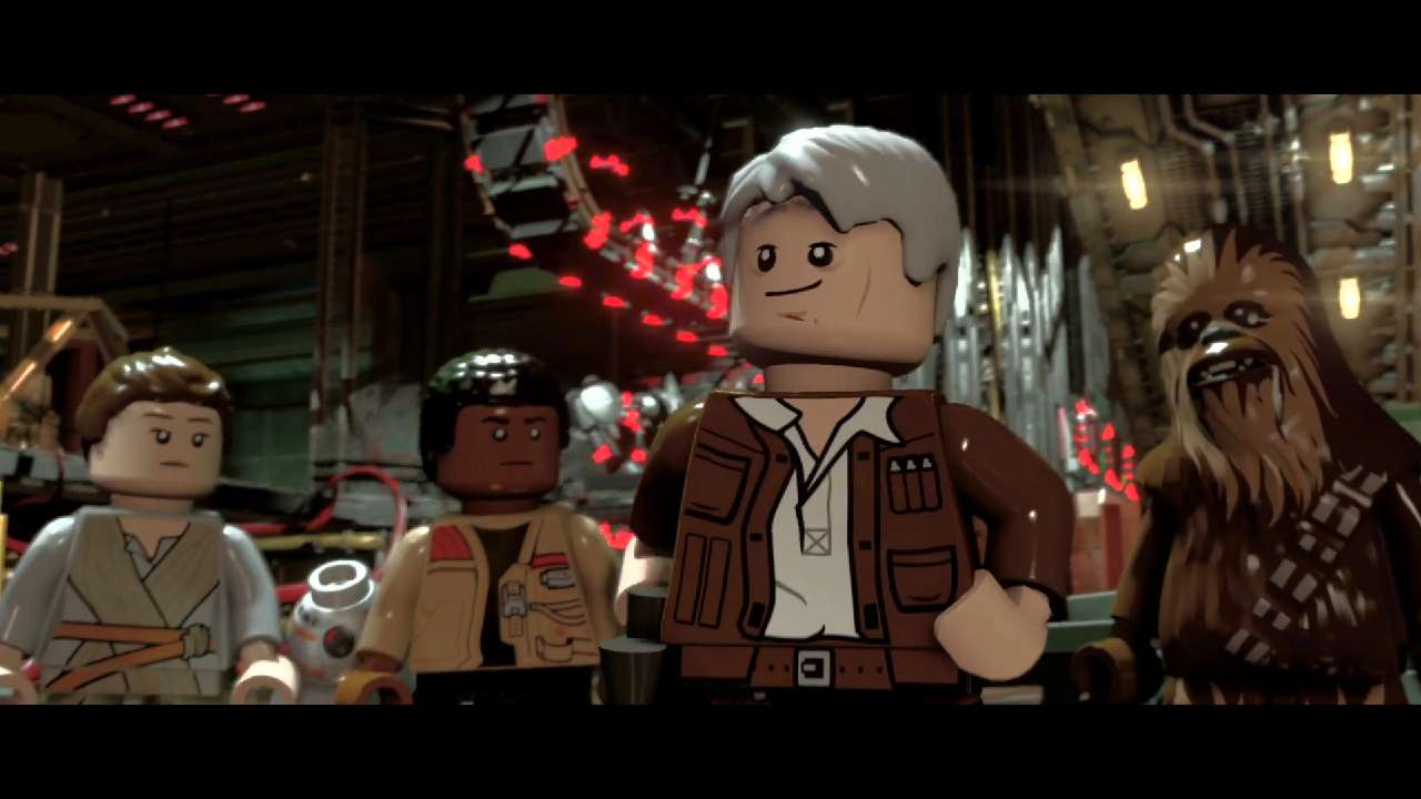 "The gameplay trailer for the upcoming video game ""LEGO Star Wars: The Force Awakens."""