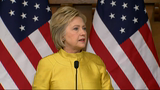 Clinton Slams GOP Rivals on Brussels Response