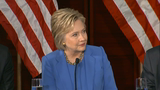 Clinton: 'US Can't Give Into Panic, Fear'