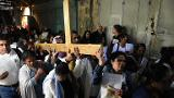 Christians mark Good Friday in Jerusalem