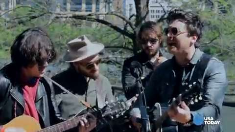 Dad Rock: Watch The Wild Feathers play outdoors during SXSW
