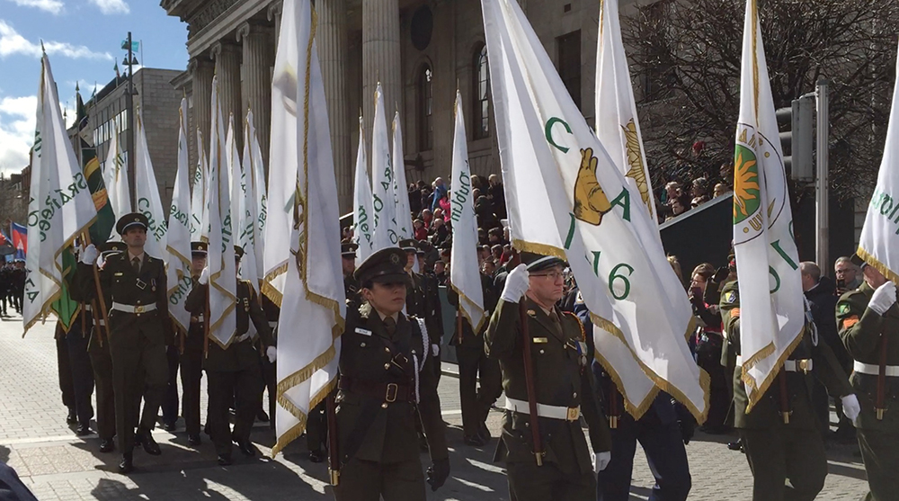Ireland marks Easter Rising