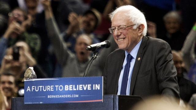 Sanders sweeps Saturday's caucuses