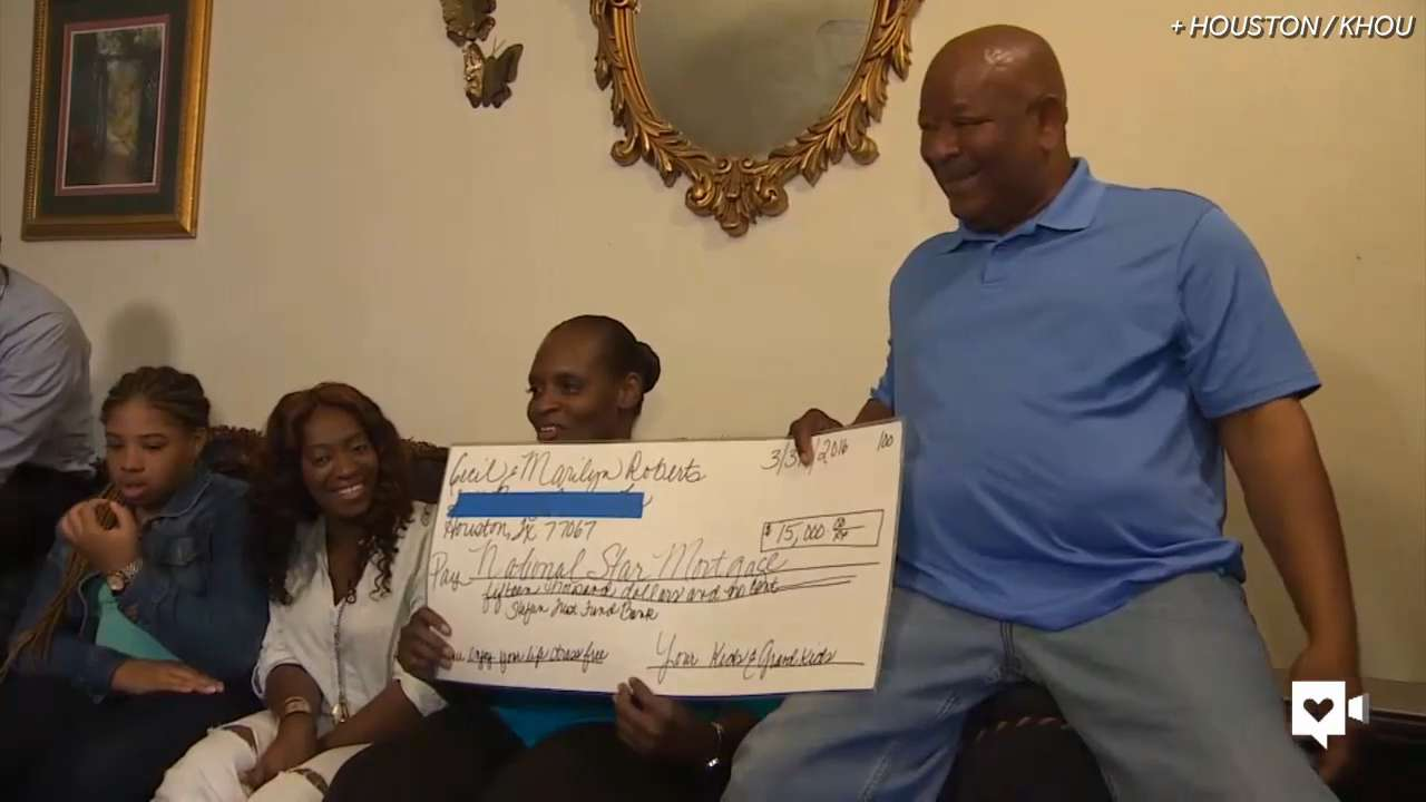 College student pays off grandparents' mortgage