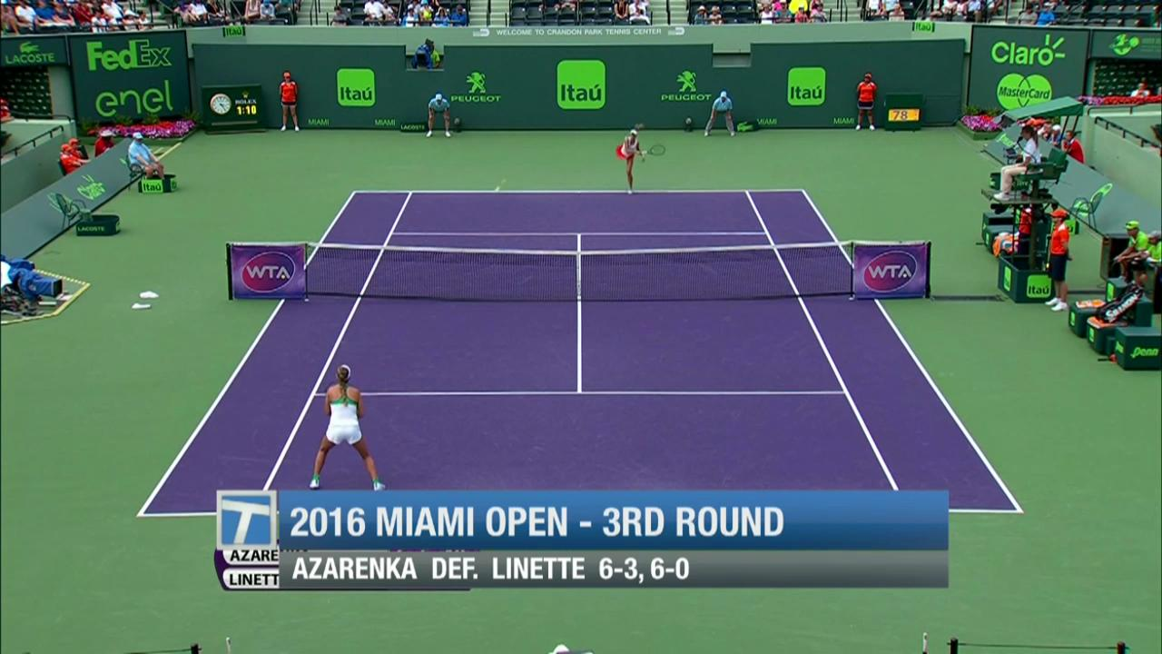Tennis Channel Court Report: Miami Open results